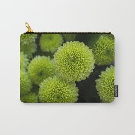 Green Chrysanthemums Carry-All Pouch