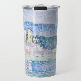 "Paul Signac ""Antibes, Gewitter"" Travel Mug"