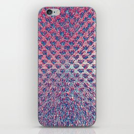 Red White & Blue Explosion iPhone Skin