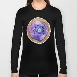 Opal and Gold Agate Long Sleeve T-shirt