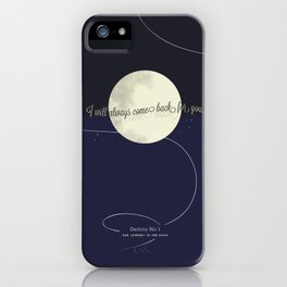 Destiny No. 1 | Our journey to the Moon iPhone Case