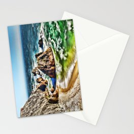 Amazing Surge Patterns in the Surf at Point Reyes, Calfornia Stationery Cards
