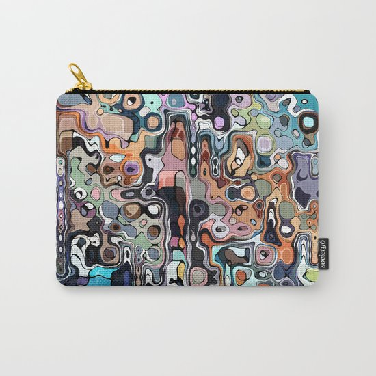 Abstract Digital Doodle 2 Carry-All Pouch
