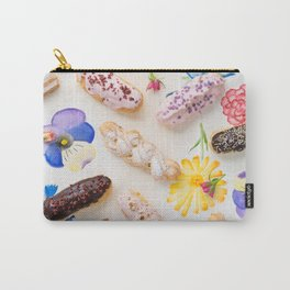 Eclairs with toppings Carry-All Pouch