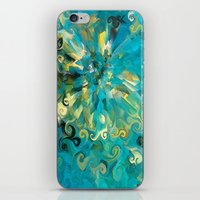 fireworks iPhone & iPod Skins featuring Fireworks by Paul Kimble