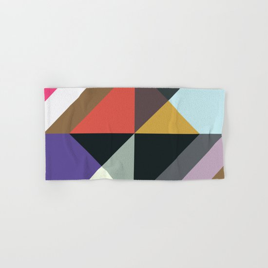 Abstract Pattern Once Again Hand & Bath Towel