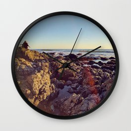 Sea and Shoals Wall Clock