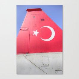 Turkish Air Force Logo Canvas Print