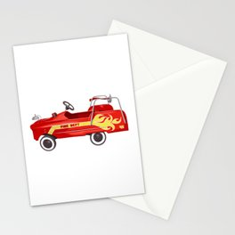 Firetruck Stationery Cards