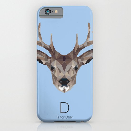 D is for Deer iPhone & iPod Case