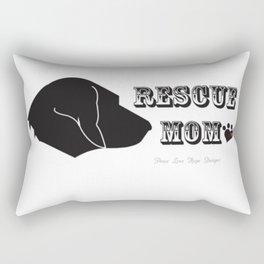 Rescue Mom Rectangular Pillow