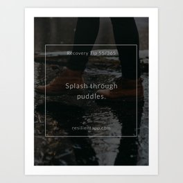 Recovery Tip #55 Art Print