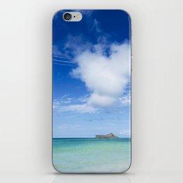 Heart Sea Beach - Hawaii iPhone Skin