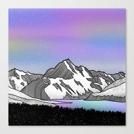 Aoraki Mount Cook Canvas Print