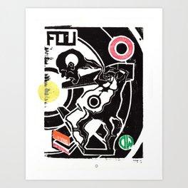FOU Art Print
