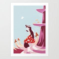 Good morning mister butterfly! Art Print