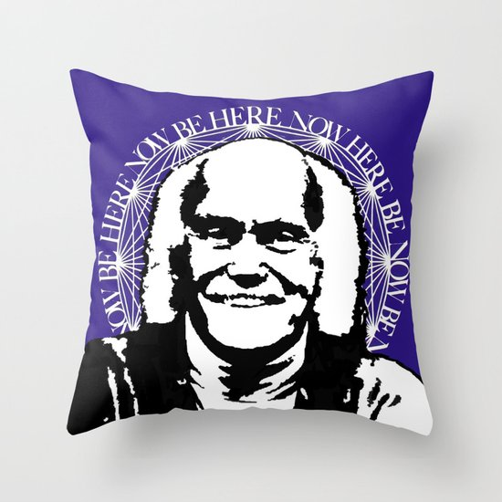 Ram Dass Throw Pillow