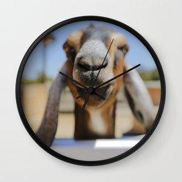 JarJar The Goat Wall Clock