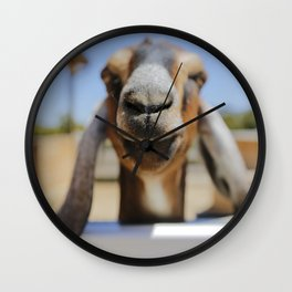 JarJar The Goat Wall Clock
