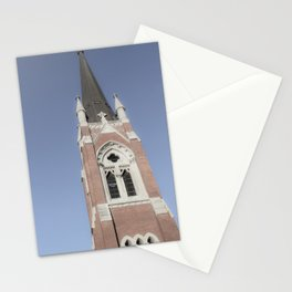 Church Steeple Downtown Nashville Photography Stationery Cards