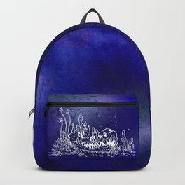 Dino skull – Blue Backpack