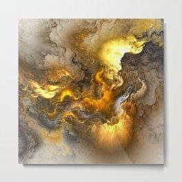 Unreal Stormy Heaven Metal Print