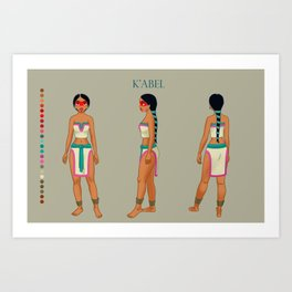 K'abel concept Art Print