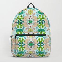 Trendy Rabbit tries succulents Backpack