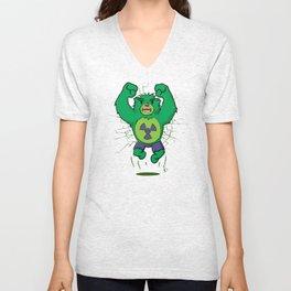 The Incredibear Hulk Unisex V-Neck