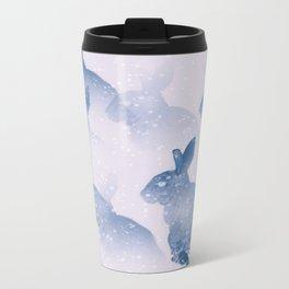 Snow bunny Metal Travel Mug