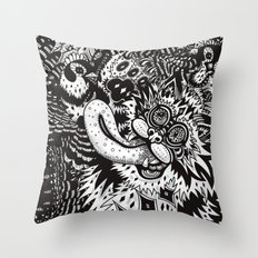 Domesticated (Afternoon in the Garden) Throw Pillow