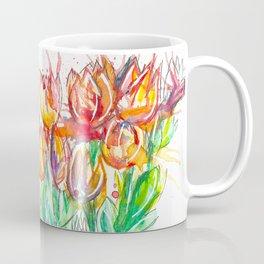 splashed spring flowers Coffee Mug