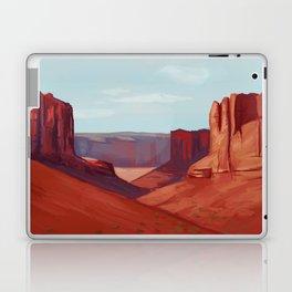 Red Landscape Laptop & iPad Skin