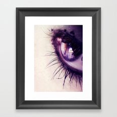 Eye 2 Framed Art Print