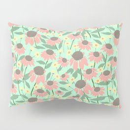 Echinacea and Coreopsis Pillow Sham
