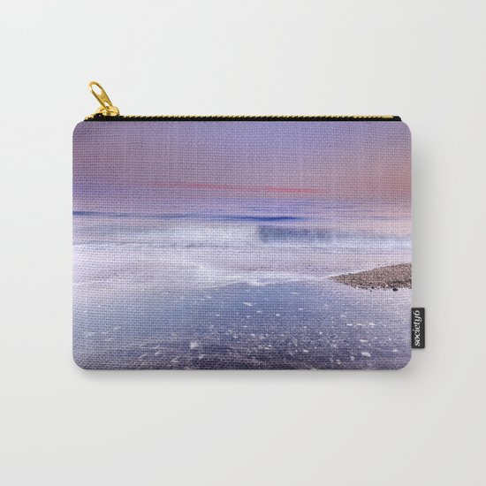 """""""Looking at the waves"""" Sea dreams Carry-All Pouch"""
