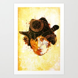 Doctor Who - Four Art Print