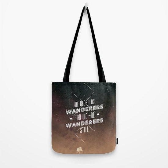 Wanderers - MSL/Curiosity Commemoration Print Tote Bag