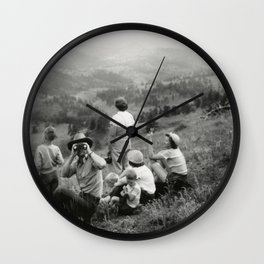 972 Wall Clock
