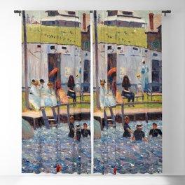 Pierre-Auguste Renoir - The Bathing Hour, Chester, Nova Scotia Blackout Curtain