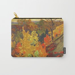 Canadian Landscape Oil Painting Franklin Carmichael Art Nouveau Post-Impressionism Autumn Carry-All Pouch