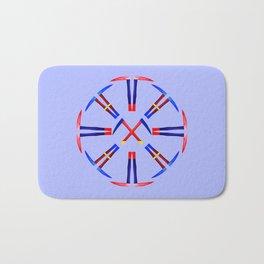 Kama Sickle Design Bath Mat