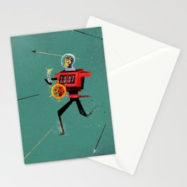 The Time Travelling Pirate Stationery Cards