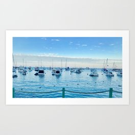 BOATS@REST Art Print