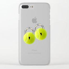 Ball Locks Clear iPhone Case