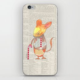 Ole Grandpa Mouse iPhone Skin