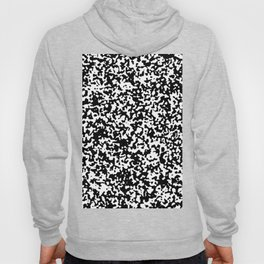 Small Spots - White and Black Hoody