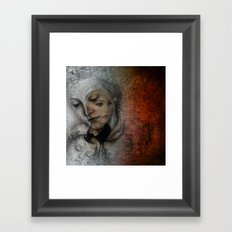 different times - different feelings Framed Art Print