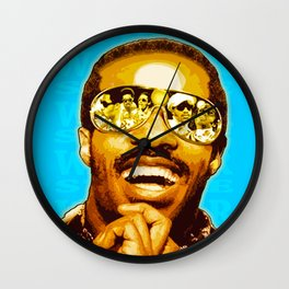 """STEVIE WONDER: iWONDER"" Wall Clock"