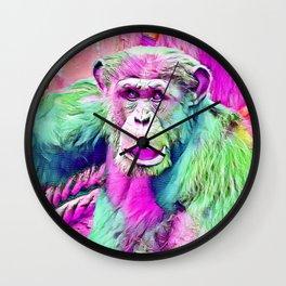 SmartMix Animal - chimpanzee 1 Wall Clock